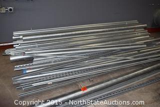 Galvanized Pipes, Rails