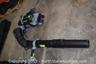 EGO Cordless Backpack Blower