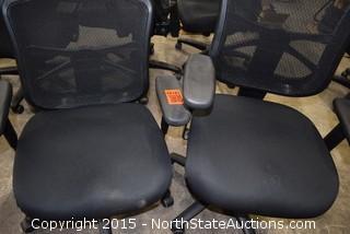 Mesh Back Swivel Chairs