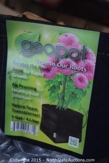 Misc plant pots