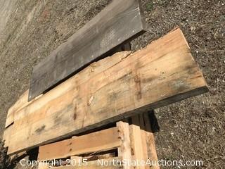 Misc Wood Slabs
