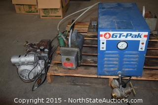 Gt - Pak Natural Gas Torch Booster, Motor, and Power Box