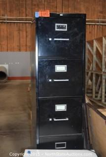 File Cabinet, Westpointe Tower Fan, Sharp Microwave Oven, Flourescent Lights, 3 Framed Pictures