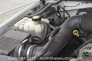 2001 GMC Sierra Pickup AS IS NON SMOG