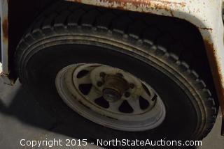 1993 Norcal 1-Axle Trailer
