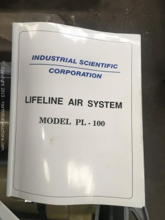 Industrial Scientific Lifeline Air Filter/ Monitor PL-100