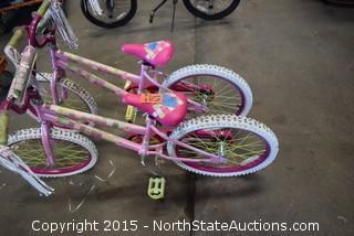 2 Little Girls Bikes