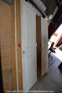 2 White Doors