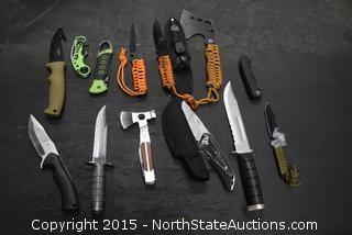 Mixed Lot of Knives