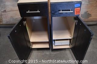 End Cabinets For Counters with Drawers