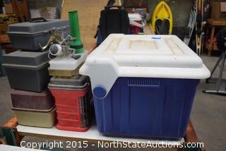 Lot of Tackle Boxes
