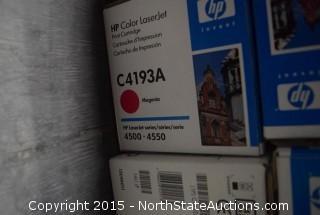 HP Color Laser Jet Ink Cartridges
