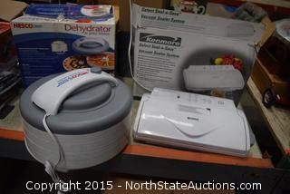Vacuum Sealer, Dehydrator
