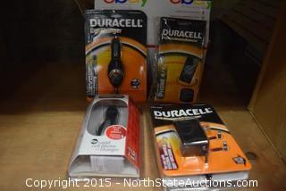 Duracell Chargers