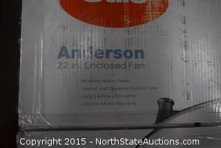 Anderson 22in Enclosed Fan