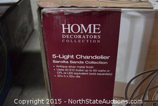 5-Light Chandeller