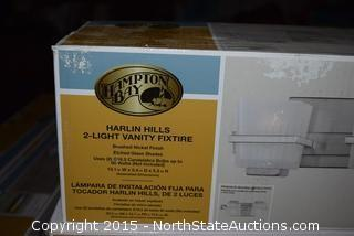 Harlin Hills 2-Light Vanity Fixture