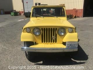 1971 Jeep Jeepster Commando, V6, 4x4