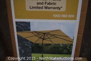 Hampton Bay Outdoor Umbrella