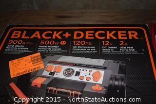 Black & Decker Portable Power Station