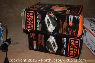 2 Black & Decker Power Inverter