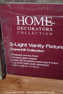 Home Decorators Collection 3-Light Vanity Fixture