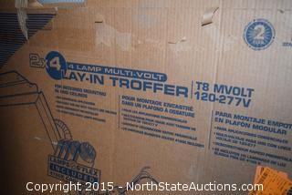 2x4 4 Lamp Multi.Volt Lay in Troffer