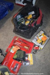 Huskey Tool Bag With Mixed Lot of Tools