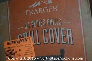 2 Traeger 34 Series Grill Cover