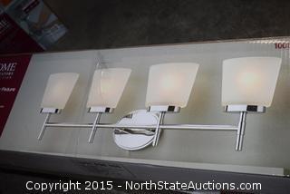 2 Home Decorators Collection 4 Light Vanity Fixture