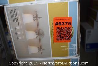 Hampton Bay 3-Light Vanity Fixtures