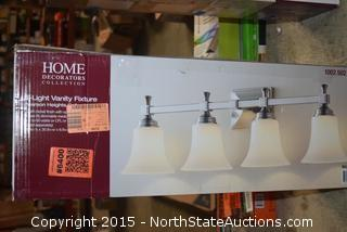 Home Decorators 3 Light and 4 Light Vanity Fixture