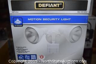 Defiant Motion/Security Lights
