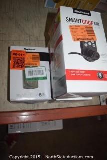Kwikset Smart Code Touchpad Electronic Deadbolt , Powerbolt2 Touchpad Keyless Entry