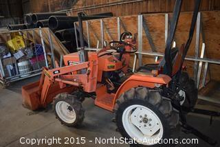 Tractor with Loader Allis-Chalmers 5015