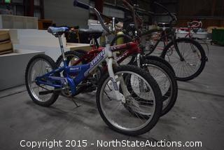 3 Kids Bikes