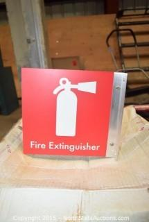 Fire Extinguishers Sighns
