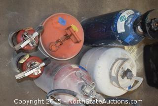Mixed Lot of Tanks