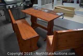 L Shape Kitchen Table