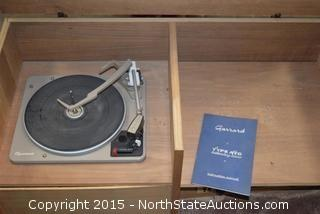 Vintage Garrarod Type AT6 Turntable
