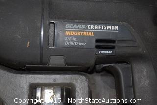 "Craftsman 3/8"" Industrial Drill/Driver,"