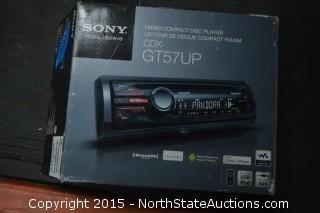Sony Car Radio Deck