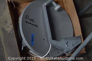 Satellite Dish and Stand