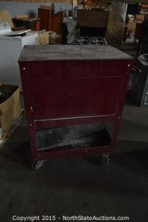 Rolling 4 Drawer Tool Box