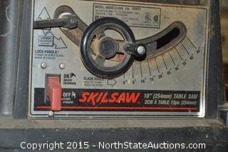"10"" Table Saw and Toolbox"