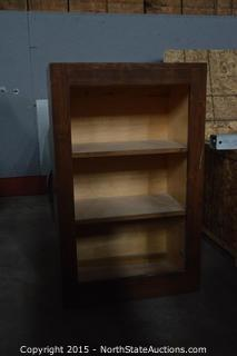 Book Shelves/Storage Cabinet