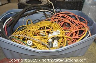 Lighting Extension Cords with Lights