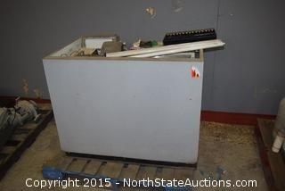 Desk and Cash Register