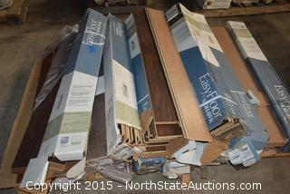 Lot of Hardwood Flooring
