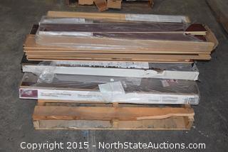 Lot of Hardwood Flooring